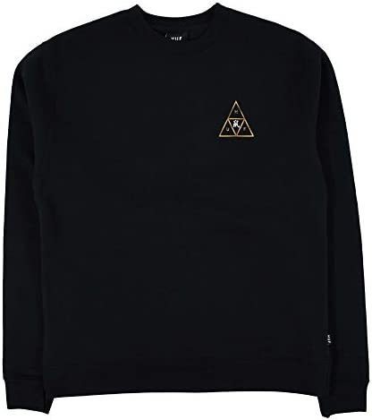 HUF Year of the Rat Triple Triangle Pullover Crew schwarz