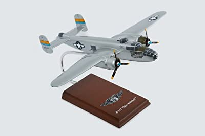 "North American B-25J ""Miss Mitchell"" Handcrafted Quality Desktop Aircraft Model Display / WWII Medium Bomber Aircraft / Unique and Perfect Collectible Gift Idea / Aviation Historical Replica Gift Toy"