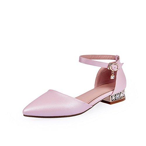 Adee - Sandalias de vestir para mujer, color Rosa, talla 40