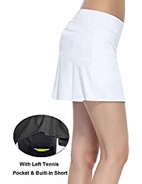 Women's Workout Active Skorts Sports Tennis Golf Skirt...