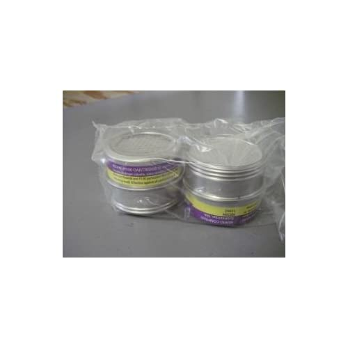 Image of Personal Protective Equipment AO SAFETY R53HE - Organic Vapors w/ P100 Particulate Filter, 2 Pack