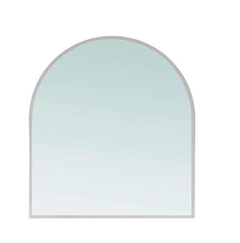 Euro Mesas Placa de Suelo Cristal Chimenea rundbogen Funke Placa Protectora Transparente 100 x 80 x 0, 6 cm 6cm xx