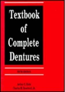 Buy textbook of complete dentures book online at low prices in india textbook of complete dentures fandeluxe Gallery