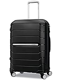 Freeform Hardside Expandable with Double Spinner Wheels, Black