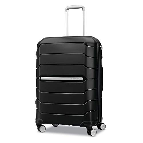 Samsonite Freeform Hardside Luggage, Black, Checked-Medium