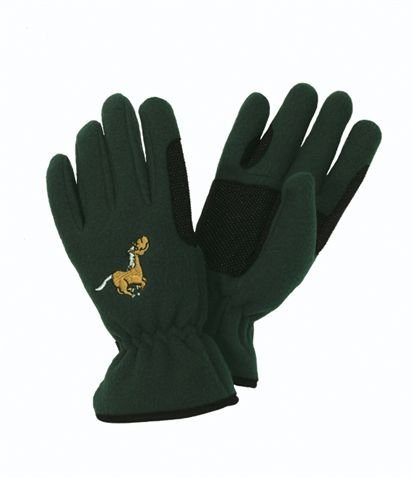 Equi-Star Childs Pony Fleece Glove Black, Medium