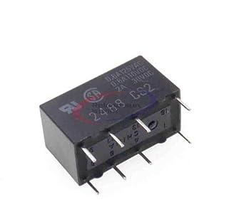 12V Relay G5V-2-12VDC 2A Signal Relay 8PIN for Omron Relay Black