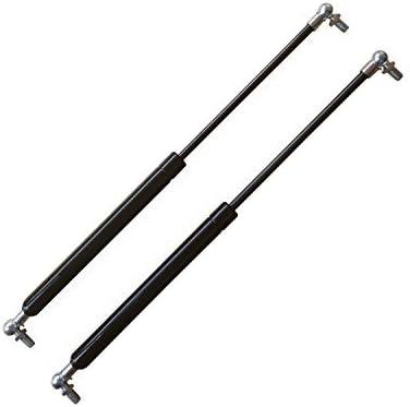250mm Pair StrutsDepot Replacement 500N Gas Struts w//M8 Ball Stud Bolts