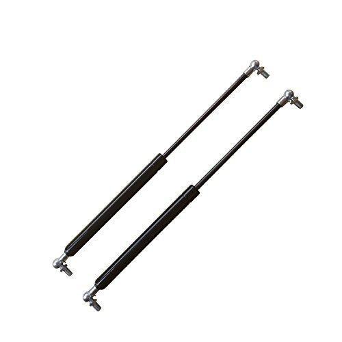 Pair 450mm StrutsDepot Replacement 500N Gas Struts w//M8 Ball Stud Bolts