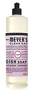 Mrs. Meyer's Clean Day Dish Soap, Lavender scent, 473ml