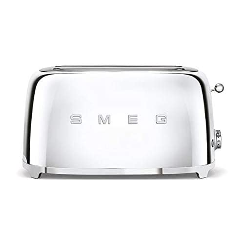 Smeg TSF02SSUK | 50's Retro Style 4 Slice Toaster in Chrome