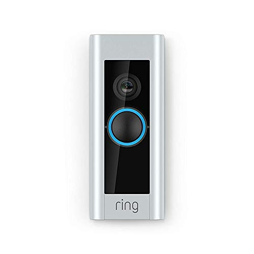 Ring Video Doorbell Pro Hardwired | Includes Chime (1st generation), 1080p HD, Two-Way Talk, Wi-Fi, Motion Detection…