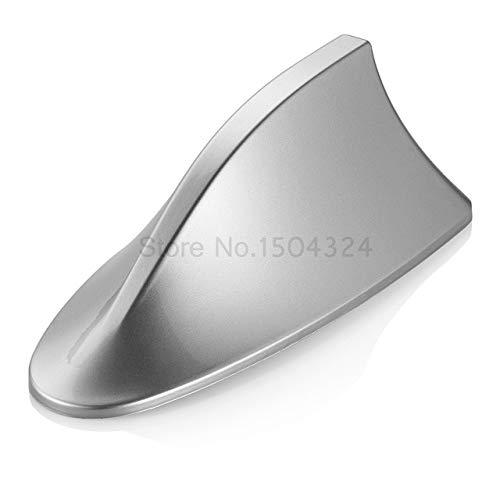 Car Shark Fin Antenna aerial antena blank signal For KIA Rio K2 Sportage Ceed Sorento Cerato Hyundai Tucson i30 Solaris Accent - (Color Name: Silver, Size: For Sedan)