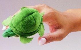 Folkmanis Puppets 2153 - Mini-Schildkröte GR7252 Figurentheater / Fingerpuppen Figurentheater und Zubehör
