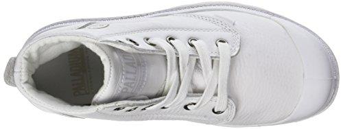 Palladio Unisex Adulto-pampa Hi U Leat Alta Bianco Sneaker (bianco)