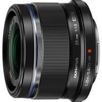 Olympus V311060BU000 25mm f1.8 Interchangeable Lens for Olympus/Panasonic Micro 4/3 Digital Camera