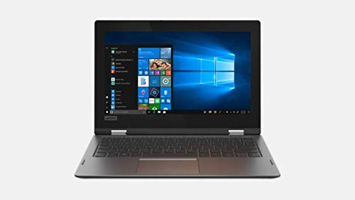 New Lenovo Flex 11 2 in 1 Convertible Laptop, 11.6 Inch HD Touchscreen Display, Intel Pentium Silver N5000 Processor,4GB DDR4, 64GB EMMC, 1yr-Office 365, Dolby Audio, Windows 10 in S Mode, Black