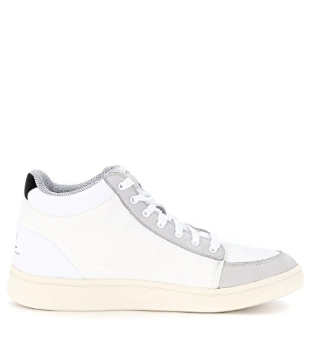 Alexander McQueen hohe Sneakers PUMA Serve Mid aus Canvas Weiss quarry-whisper white-white
