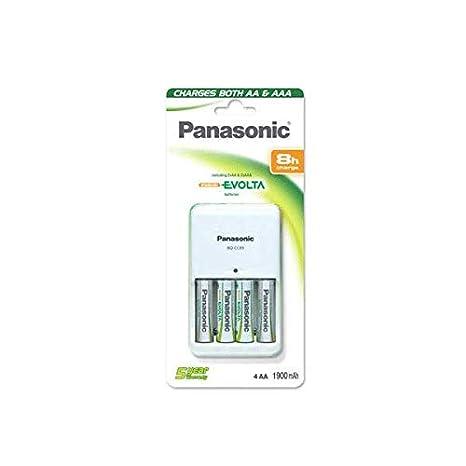 Panasonic BQ-CC17 Indoor battery charger Color blanco: Amazon.es ...
