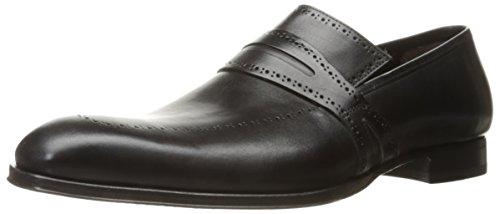 Mezlan Men's Bruni Slip-on Loafer, Graphite, 10.5 US/10.5 M US