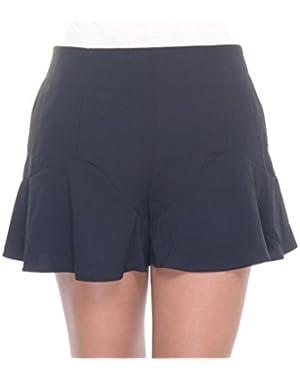 Guess Mid Rise Peplum Shorts Size 8