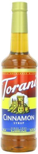 Torani Syrup, Cinnamon, 25.4 Ounce (Pack of 4)