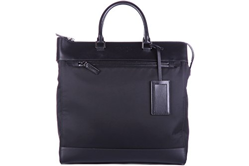 Prada men's bag handbag tote shopping soft (Prada Canvas Handbag)
