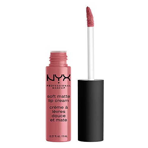NYX PROFESSIONAL MAKEUP Soft Matte Lip Cream, High-Pigmented Cream Lipstick in Beijing