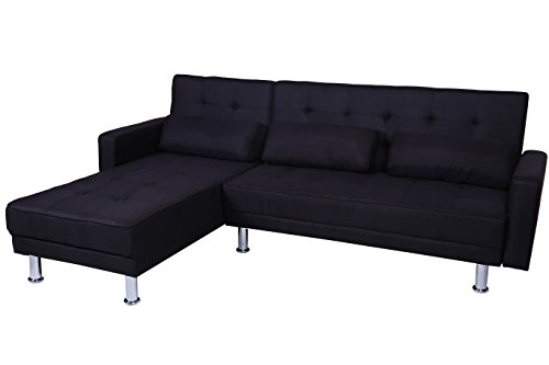 Sofas with chaise on one end home furniture design for Chaise end sofa bed