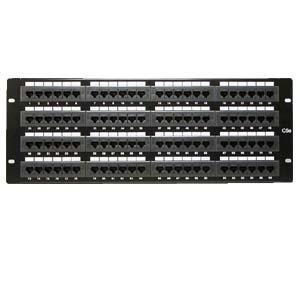InstallerParts Cat 5E 110 Type Patch Panel 96 Port Racmount