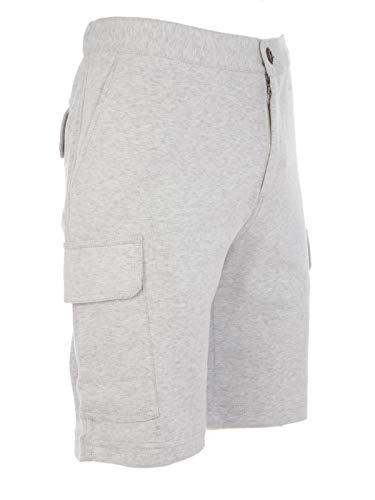 Hombre Mot313222gc034 Shorts Cucinelli Brunello Gris Algodon 7Ow4Wq5