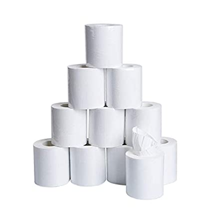 Ultra Soft Touch Toilet Paper Highly Absorbent Household Toilet Paper Skin-Friendly 3-Ply Paper Towel Home Kitchen Enviro Toilet Tissue for Daily Use E# 10 Roll 10 Rolls Toilet Paper Toilet Roll