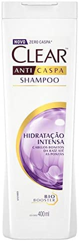 Shampoo Anticaspa Women Hidratação Intensa, Clear, 400 ml