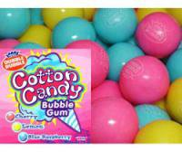 Cotton Candy 1 Inch Gumballs, 2LBS