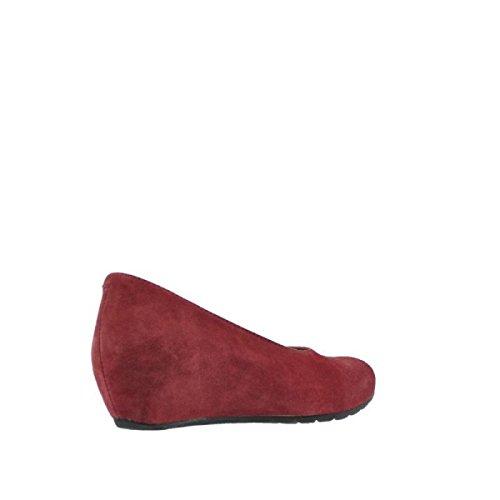 Leather 40510 Sandals Veloursleder Wolky Rio Womens Bordo vnHqxZgx