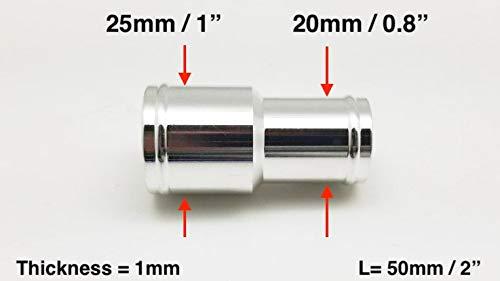 Fuel//Oil Hose Clip 25//32 Pack of 10 Vacuum Hose Spring Clamp Autobahn88 20-25mm