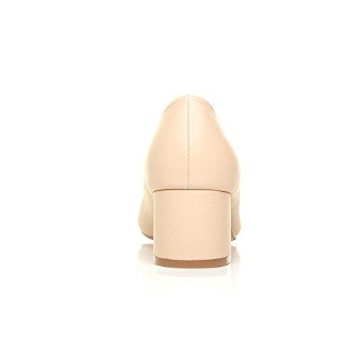 NUDE Escarpins ShuWish PU UK femme pour beige ShuWish UK vOqSqf