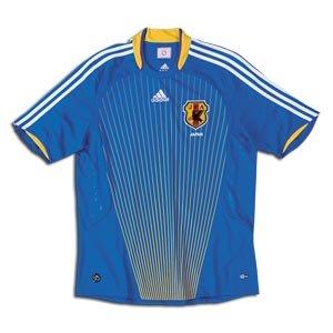 Japan Home Soccer Jersey (Large)