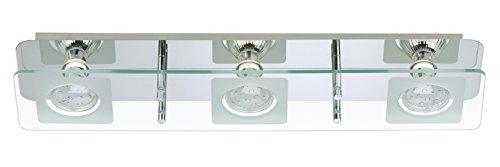Deckenlampe LED Strahler Spots Wohnzimmerlampe Deckenstrahler Deckenleuchte Wohnzimmer Deckenspot Deckenbeleuchtung Amazonde Beleuchtung