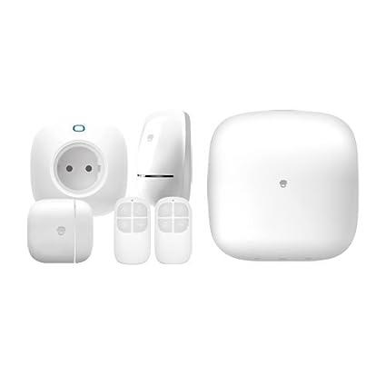 Chuango - Sistema de alarma y Smart Home GSM/Wifi - Inalámbrico - Kit formado