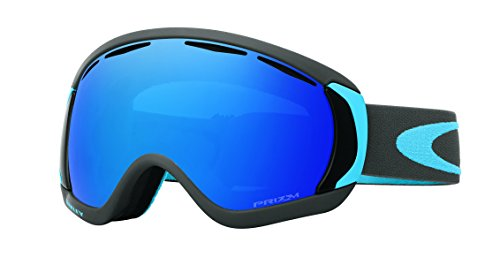 Oakley Men's Canopy Snow Goggles, Iron Sapphire, Prizm Sapphire Iridium, Large