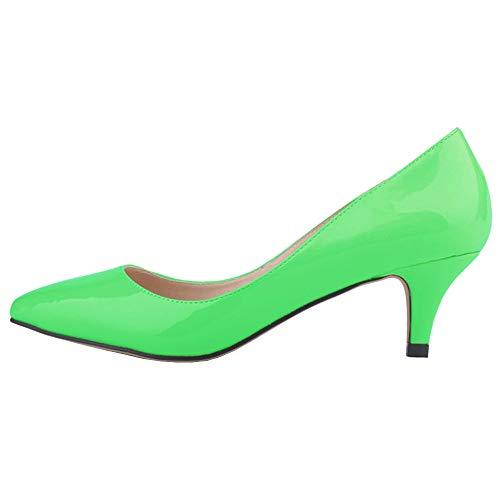 de Renly Danse Ni678 36 Salon Femme Vert Green 1PA 5 xwwPqHA