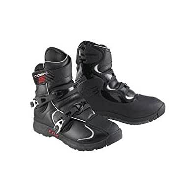 Fox Racing Comp 5 Shorty MX Bike Boots - Black - 05031-001 (12)