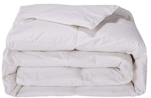 puredown Lightweight Light Warmth Duvet Insert Down Down Comforter, King, White
