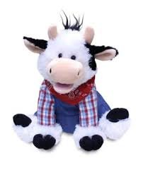 Cuddle Barn® Farmer Mac the Cow Animated Singing Musical Pl