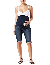 Womens Maternity Skinny Shorts