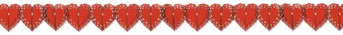Lace Heart Garland Party Accessory (1 count) (1/Pkg)]()