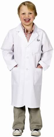 Aeromax Jr. Lab Coat, 3/4 Length (Child 8-10)