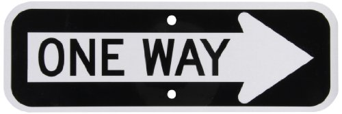 SmartSign MUTCD # R6-1R 3M Engineer Grade Reflective Sign, Legend