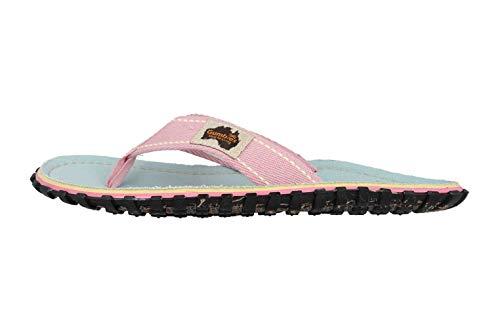 Übergrößen Gumbies Islander Pink Zehentrenner Damenschuhe Blau In Große Gecko wfEFwrq